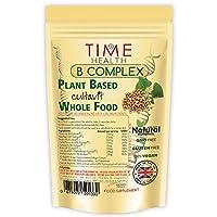 Vitamin B Komplex (60-120 Kapseln) - Alle 8 B-Vitamine B1, B2, B3, B5, B6, B7 (Biotin), B9 (Folsäure) & B12 - Bioverfügbar, pflanzenbasiert, hochdosiert & ohne Zusätze
