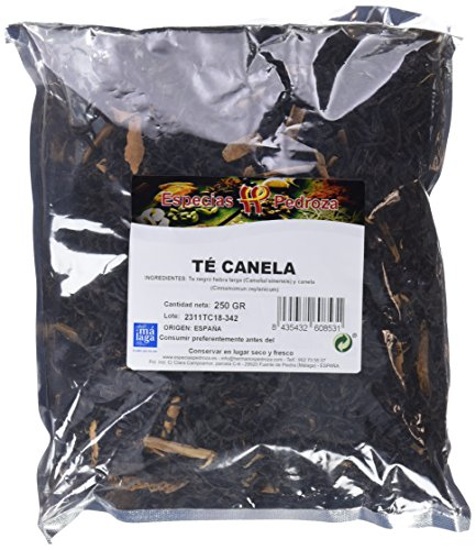 Especias Pedroza Té Canela - Paquete de 4 x 250 gr - Total: 1000 gr
