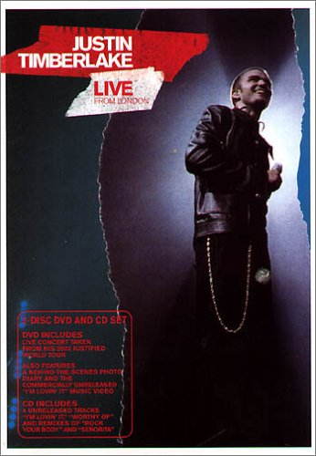 Justin Timberlake - Live in London [UK Import]
