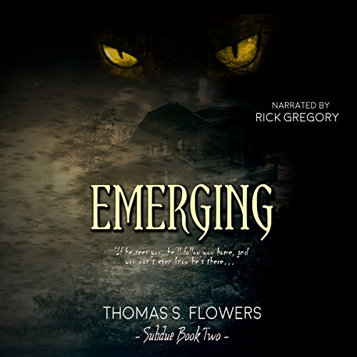Emerging audiobook cover art