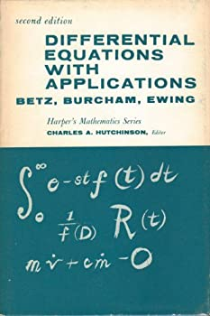 Hardcover Differential Equations with Applications Book