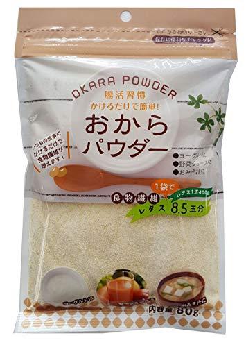 登喜和冷凍食品 乾燥おからパウダー 80g ×10袋