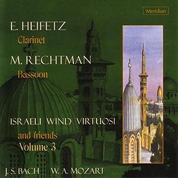 Israeli Wind Virtuosi and Friends, Vol. 3