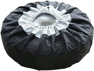 caravan camper e utilitarie con pneumatici di qualsiasi dimensione Custodia per la ruota di scorta per auto 4x4 colore nero