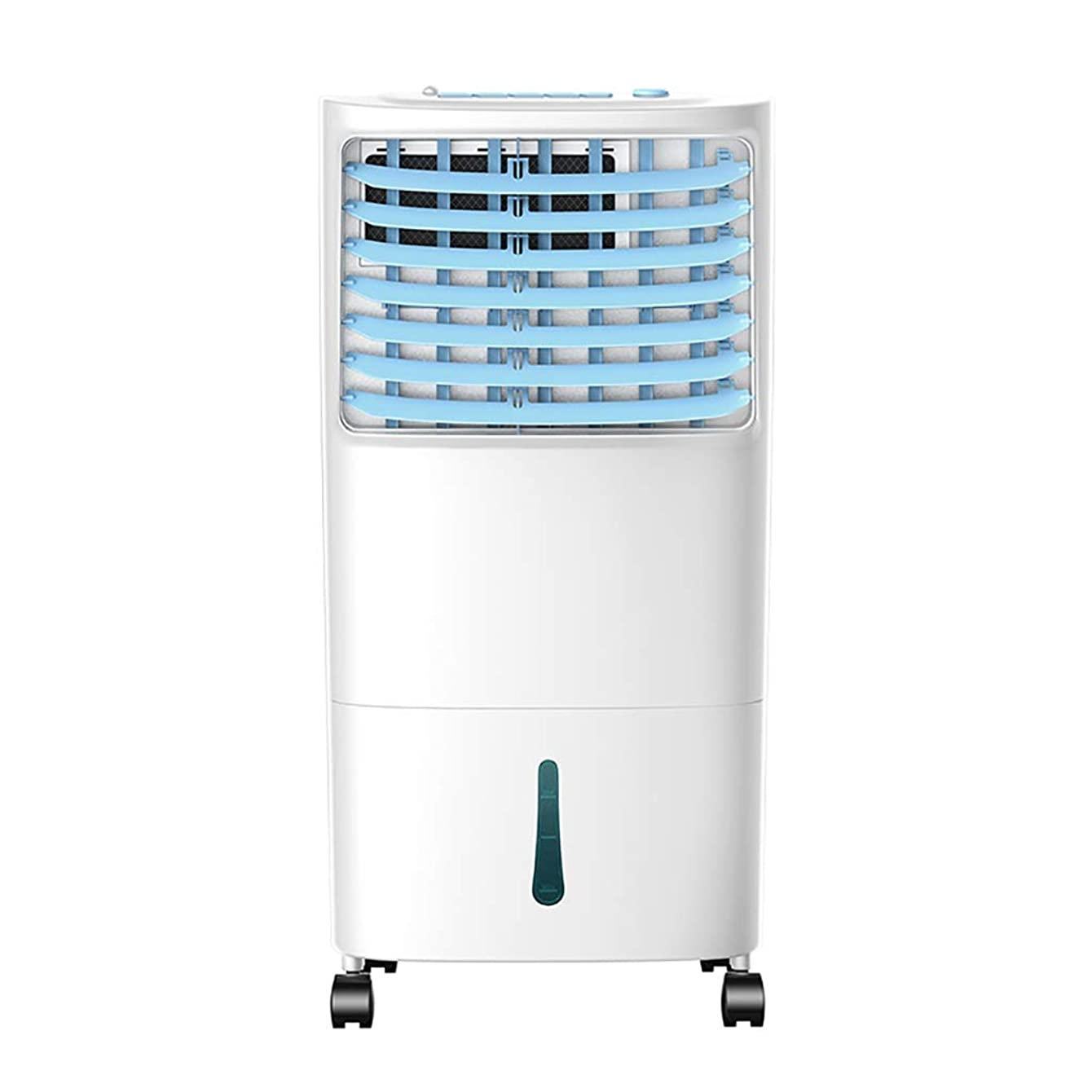 Personal Space Cooler Portable Air Conditioner, Evaporative Air Cooler And Dehumidifier With Remote Control, 3-in-1 Floor AC Unit With 3 Fan Speeds, Visible water window design