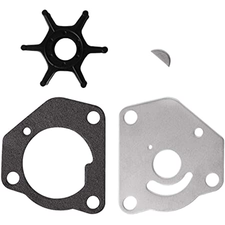 Createshao Water Pump Impeller Kit Replacement 17400-94611 18-3257 for Suzuki DT115 DT140
