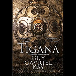 Tigana                   By:                                                                                                                                 Guy Gavriel Kay                               Narrated by:                                                                                                                                 Simon Vance                      Length: 24 hrs and 49 mins     1,858 ratings     Overall 4.1