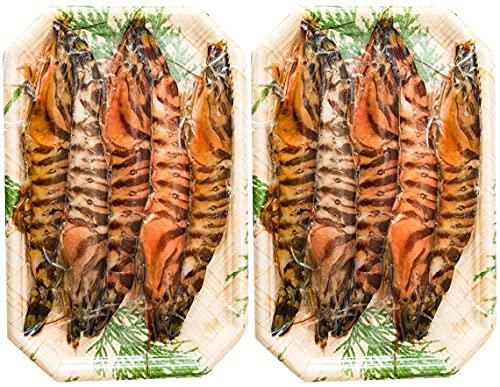 [隼人車えび] 車海老 活き〆冷凍車海老約125g(4~6尾)×2パック(生食可) 約250g