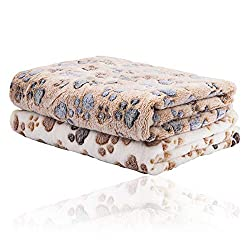 2 Pack iNNEXT Puppy Blanket for Pet Cushion Small Dog Cat Bed Soft