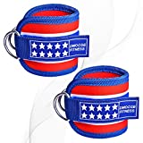 DMoose Fitness Ankle Strap for Cable Machines for Kickbacks, Glute Workouts, Leg...