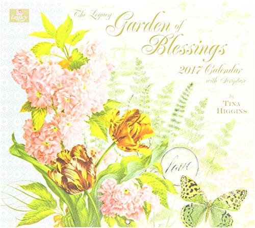 Legacy Publishing Group 2017 Wall Calendar, Garden of Blessings