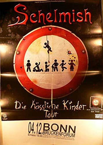 Schelmish - Bonn 2009 Konzert-Poster A1