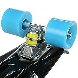 WeSkate Skateboard Komplettboard 22 Zoll mit ABEC-7 Mini Cruiser Skateboard für Kinder Jungendliche und Erwachsene, Belastung 100kg - 3
