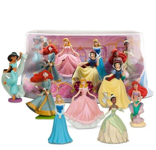 Disney Princess Mini-Figure Play Set #1 by Disney