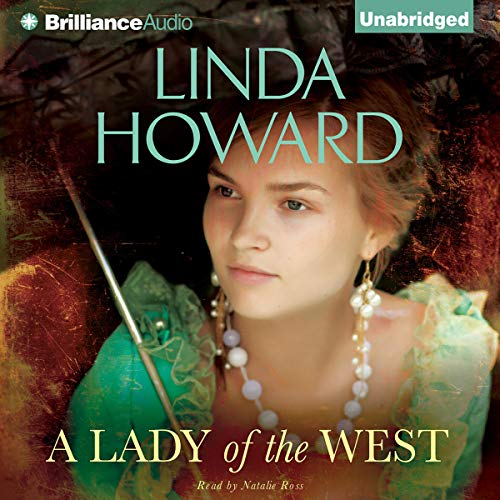 A Lady of the West audiobook cover art