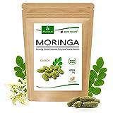 120 Moringa Energia Tabs 950mg o Moringa cápsulas 600mg - Oleifera, vegetariano, Producto de calidad de MoriVeda (1x120 tabs)