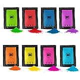 POLVO HOLI Pack 800g 8 Bolsas de 100 Gramos - 8 Colores