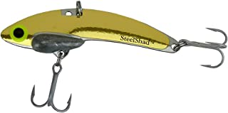 SteelShad - XL Lipless Crankbait for Freshwater & Saltwater Fishing - Long Casting Bass Lure Perfect for Bass, Pike, Musky, Walleye, Trout, Salmon and Striper