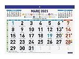 Finocam - Calendario/Faldilla 2021 Números grandes F93 Catalán