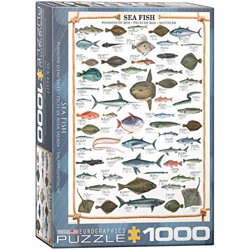 EuroGraphics Sea Fish 1000 Piece Puzzle