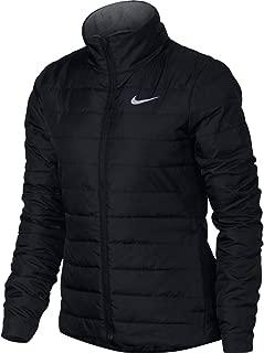 Nike Womens Repel Golf Jacket Black/Wolf Grey 855639-010