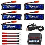 URGENEX 3.7v Lipo Battery 600mAh with JST...