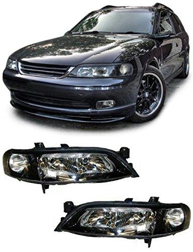 Carparts-Online 11249 Klarglas Scheinwerfer H7 H7 schwarz