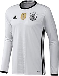 adidas Germany Home Long Sleeve Jersey [White/Black]