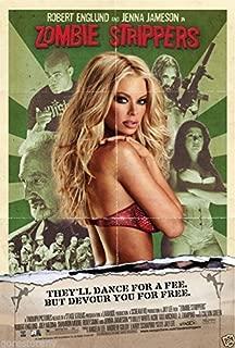 Da Bang Zombie Strippers Movie Poster Horror Jenna Jameson Robert Englund Sexy 12x18inch