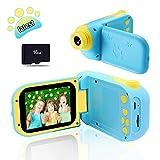 Pussan Kids Camera 8.0 MP Digital Cameras for Children 2.4 Inch Screen Digital