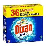 Dixan Detergente Polvo Total para Lavadora - 36 Lavados (1.980 kg)