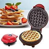 Youngsown Teglia elettrica - Mini Waffle Maker Macchina per Pancakes Strumento di Cottura ...