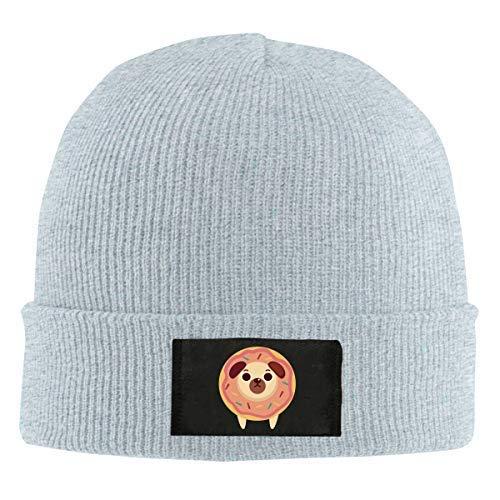 Lawenp Gorros de punto Beanie Gorro de calavera Donut Winter Warm Hat para hombres y mujeres