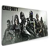 Call of Duty Mouse Pad with Stitched Edges, Non Slip Base Desk Mouse Pad, Water Proof Textured for Gaming, Office and Home Use