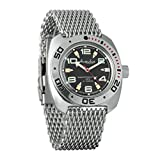 Vostok - Amphibian - 710334 - Reloj de pulsera automático, de buceo, militar, para hombre