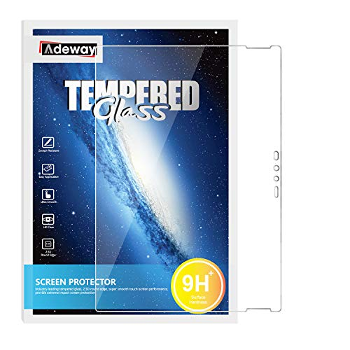 Adeway Microsoft Surface Book 2 Schutzfolie 13,5 Zoll, Ideale Passform/Anti-Fingerabdruck/Hohe Empfindlichkeit Anti-Kratz Glas Folie Panzerfolie Bildschirmschutzfolie für Surface Book 2/1(13.5 Zoll)