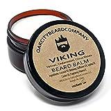 OakCityBeardCo. - Viking - 2 Ounce - Beard Balm - Beard Conditioner - Vetiver - Cedar - Citrus
