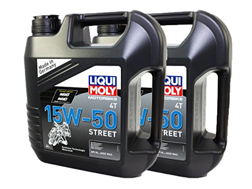 LIQUI MOLY Motoröl High Performance 2x 4 Liter 15W-50