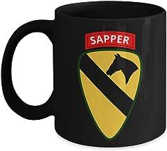 1st Cavalry Division Coffee Mug - 1st CAV Sapper Tab