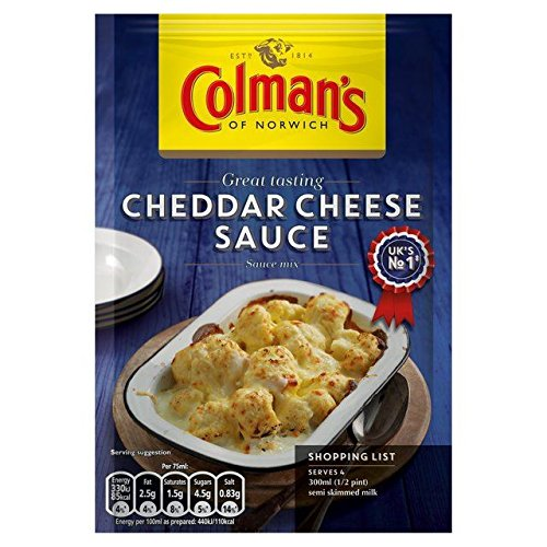 Colman's Cheddar Cheese 2021 spring and summer new Sale price Sauce Mix - 40g