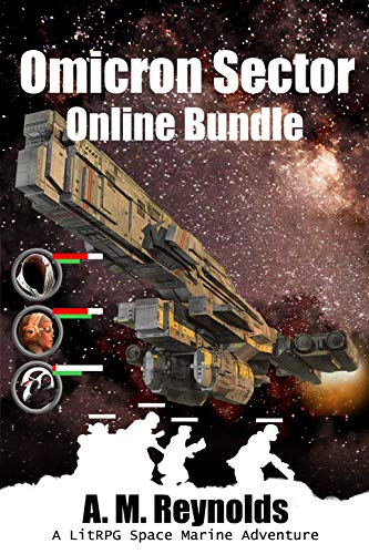 Omicron Sector Online Bundle: A LitRPG Space Marine Adventure (English Edition)