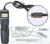 PROtastic® - Intervalómetro/temporizador para fotografía de lapso de tiempo + Astro de larga exposición (cable Nikon DC1 compatible con cámaras D70s y D80)