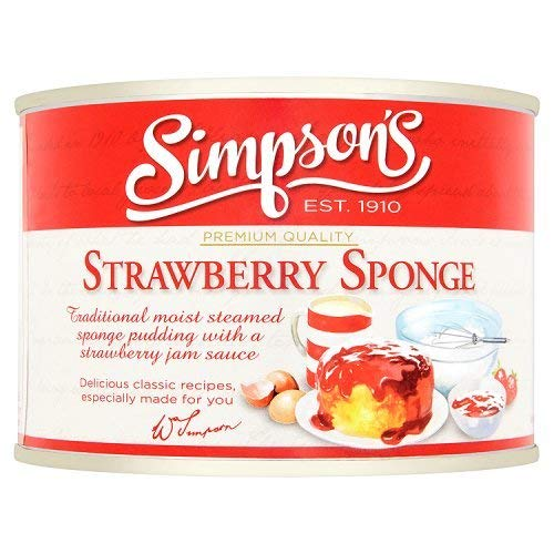 Simpson Strawberry Tin Sponge Pudding 300g - http://coolthings.us