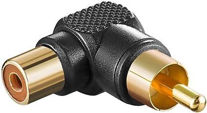 10 Stück Adapter Sw Cinch Stecker Auf Kupplung Elektronik