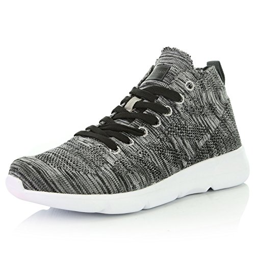 DailyShoes Women's Sneakers Running Shoe Walking Cross Training Sneakerss Breathable Lightweight Bike Motocross Fashion Shoes Sneaker Unisex High Casual Skateboarding Outdoor Grey,mesh,7