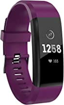 ZDAGO Fitness Tracker with Heart Rate Monitor,Waterproof Smart Band with Calorie Counter, Activity Tracker with Connected GPS, Pedometer for Men, Women and Gift