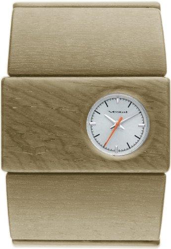 Vestal RSW002 - Reloj de Mujer de Cuarzo, Correa de Madera Color marrón