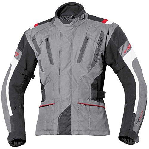 Held, 4Touring, giacca in tessuto, nero, grigio/nero, 7XL