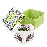 Portmeirion Home & Gifts - Joyero con forma de corazón, porcelana, multicolor, 9,5 x 9 x 4,5 cm