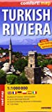 Turkish Riviera 1 : 1 000 000: Places of interest, national parks, up-to-date road network, road numbering, distances in kilometres, 7 city maps. ExpressMap (Express Maps) - EXPRESS MAP
